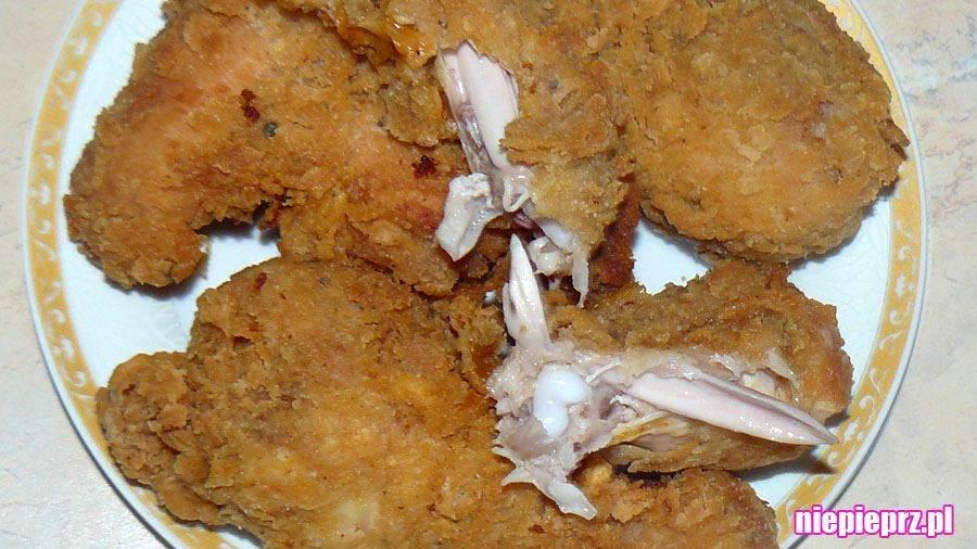 Pałki kurczaka w panierce