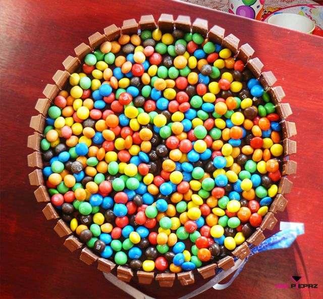Tort Urodzinowy Z M Amp M S I Ww
