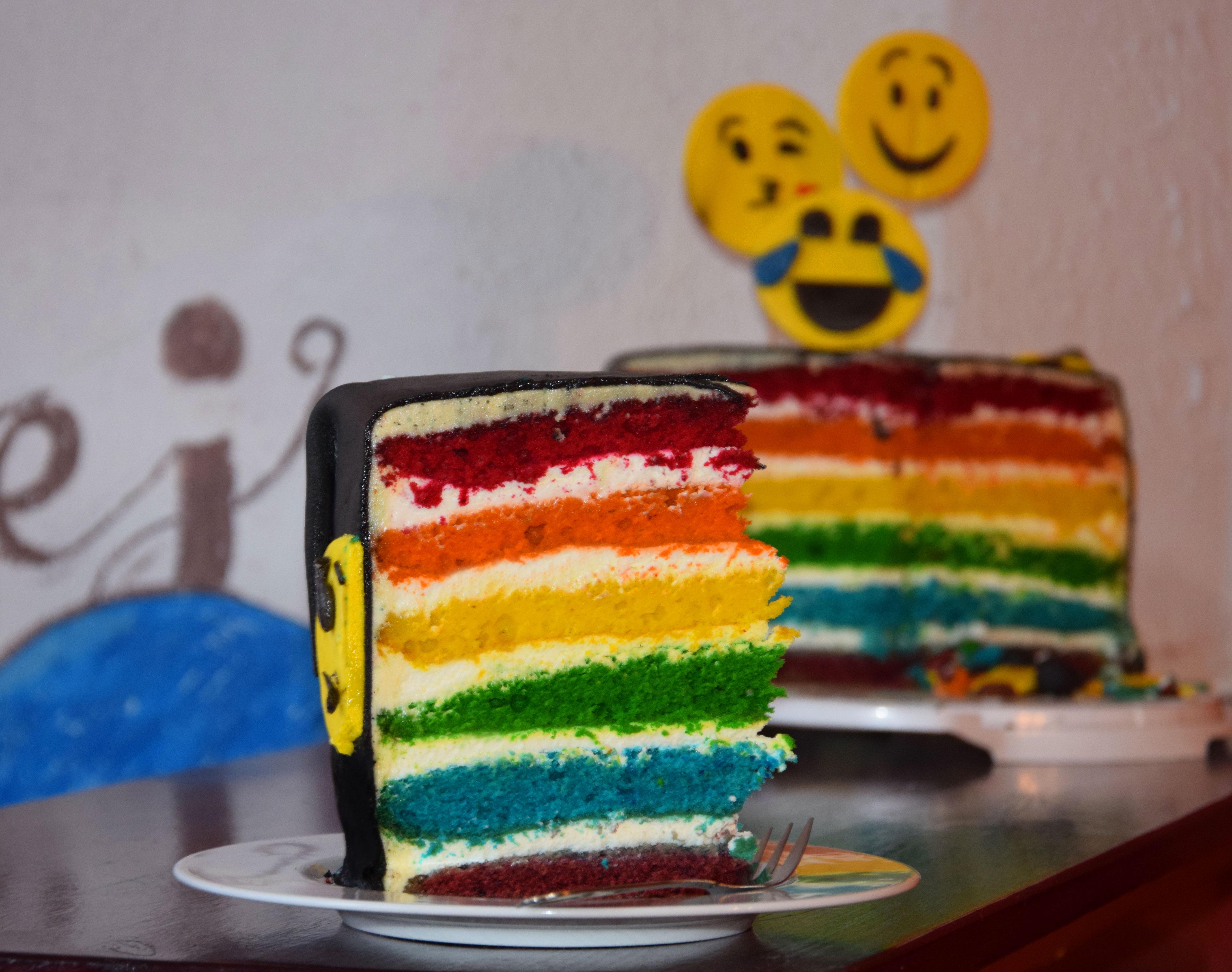 Tęczowy tort – przepis