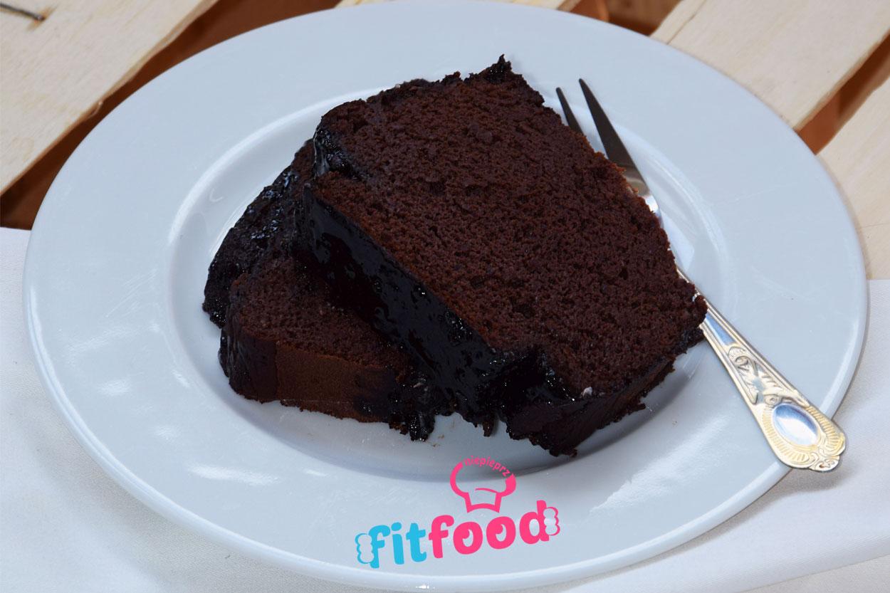 Czekoladowe ciasto z fasoli czerwonej ( brownie )