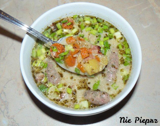 Przepis na zupę chrzanową