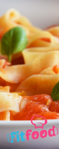 makaron w sosie ze świeżych pomidorów niepieprz przepis