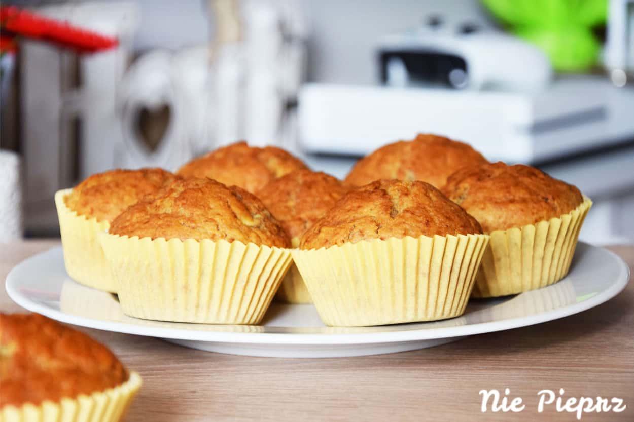 Szybkie muffinki bananowe