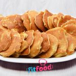 Placki z jabłkami, smażone bez tłuszczu