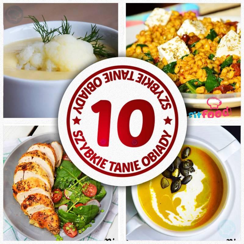 TOP 10 przepisów na tanie i szybkie obiady